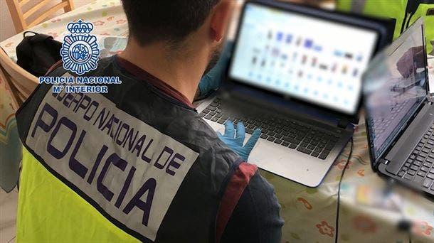 Detenido en Madrid por almacenar fotos pornográficas de la hija menor de un amigo