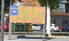 Vox se desmarca de las pintadas que han aparecido en Azuqueca