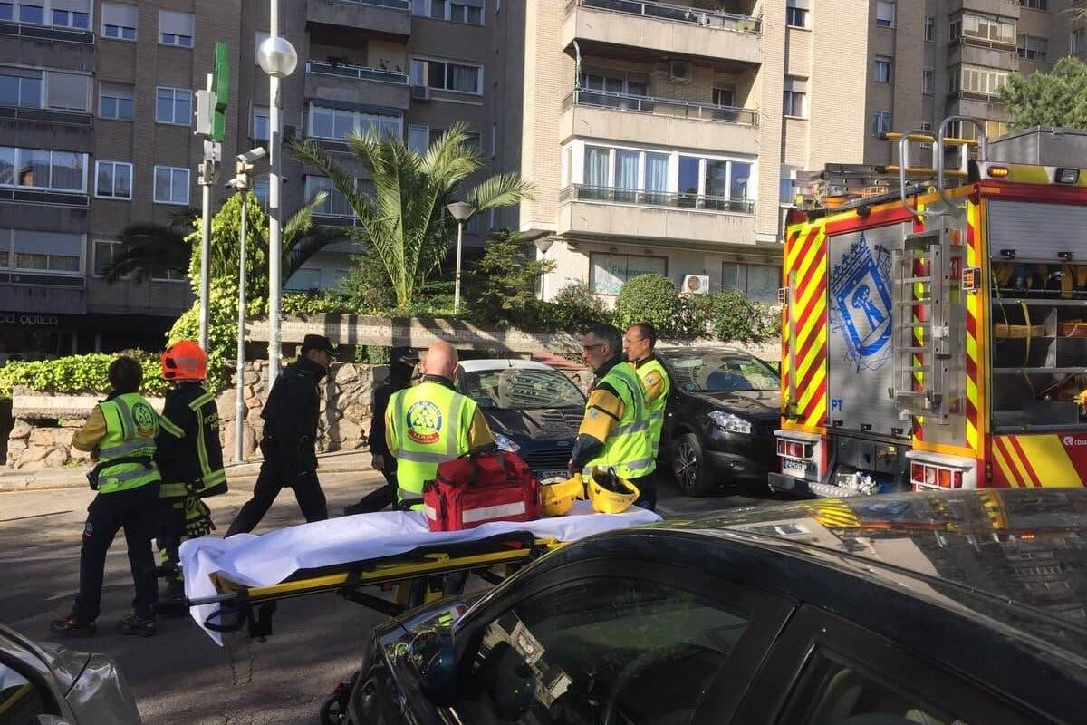 Un muerto y dos heridos graves en un incendio en Madrid
