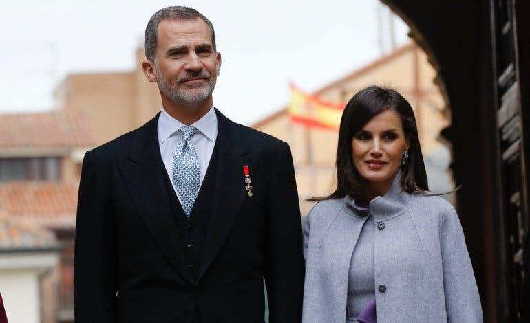 El look de la Reina Letizia en Alcalá de Henares