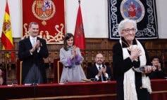 Ida Vitale recibe el Premio Cervantes en Alcalá de Henares