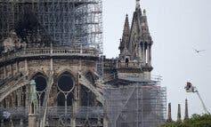 Controlado el incendio de la catedral de Notre Dame