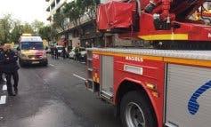 Muy grave una anciana en un incendio en Canillejas
