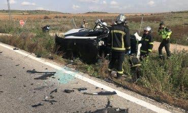 Muere un motorista en un accidente en Valdetorres de Jarama