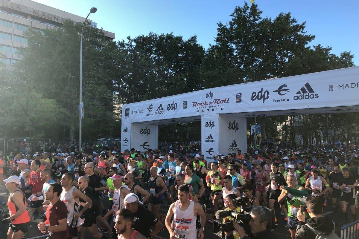 Un corredor sufre un infarto en la Maratón de Madrid