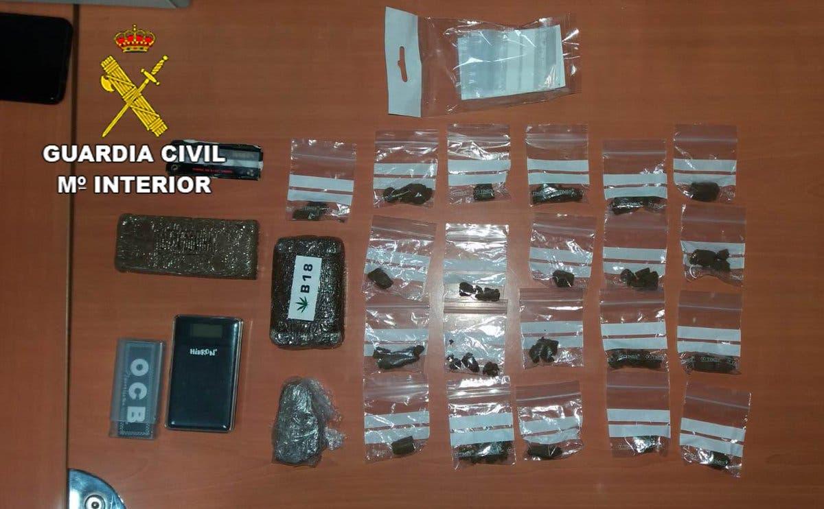 Detenido por vender droga a estudiantes en El Casar