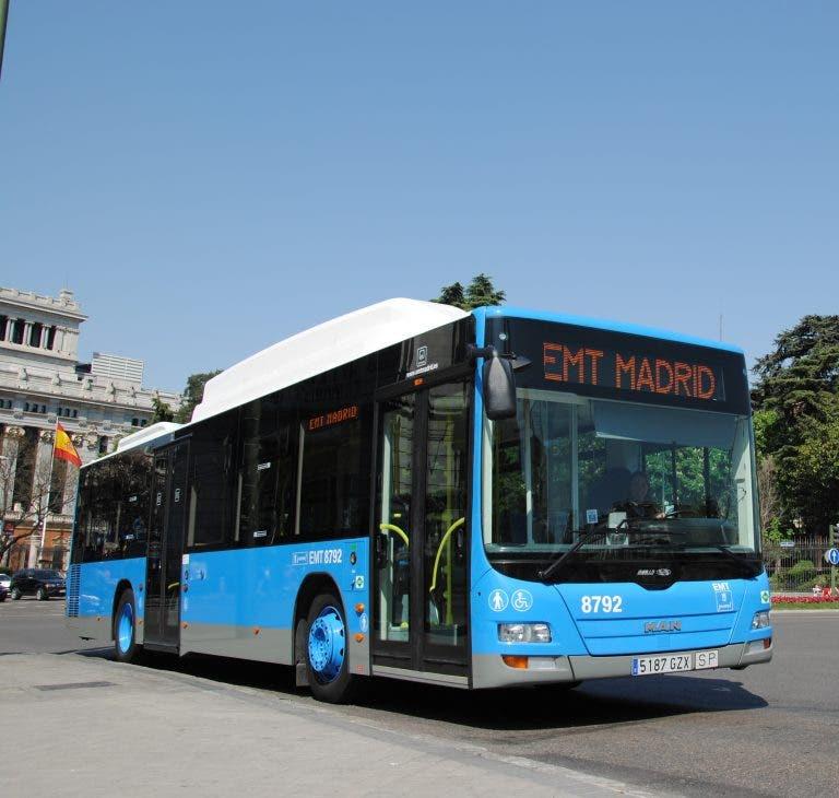 47 líneas de la EMT modifican su recorrido por un rodaje en Cibeles