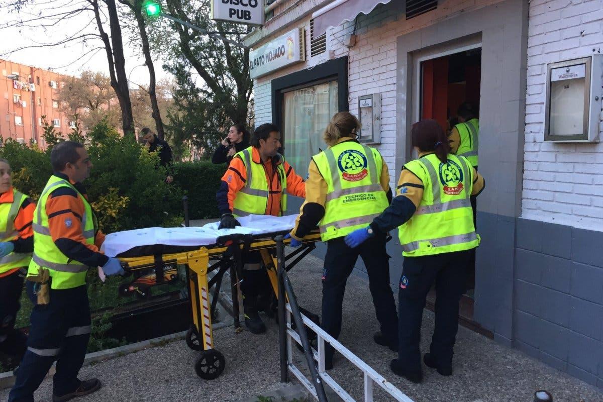 Muy grave tras ser tiroteado en un bar de copas de Madrid