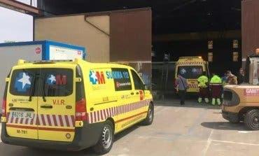 Grave accidente laboral en Alcalá de Henares