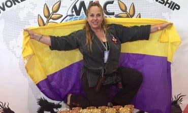 La deportista de Torrejón,Cristina Álvarez, se proclama campeona del mundo de Defensa Personal