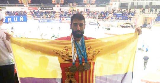 El atleta de Torrejón, Juanjo Crespo, firma una brillante actuación en el Mundial de Torum