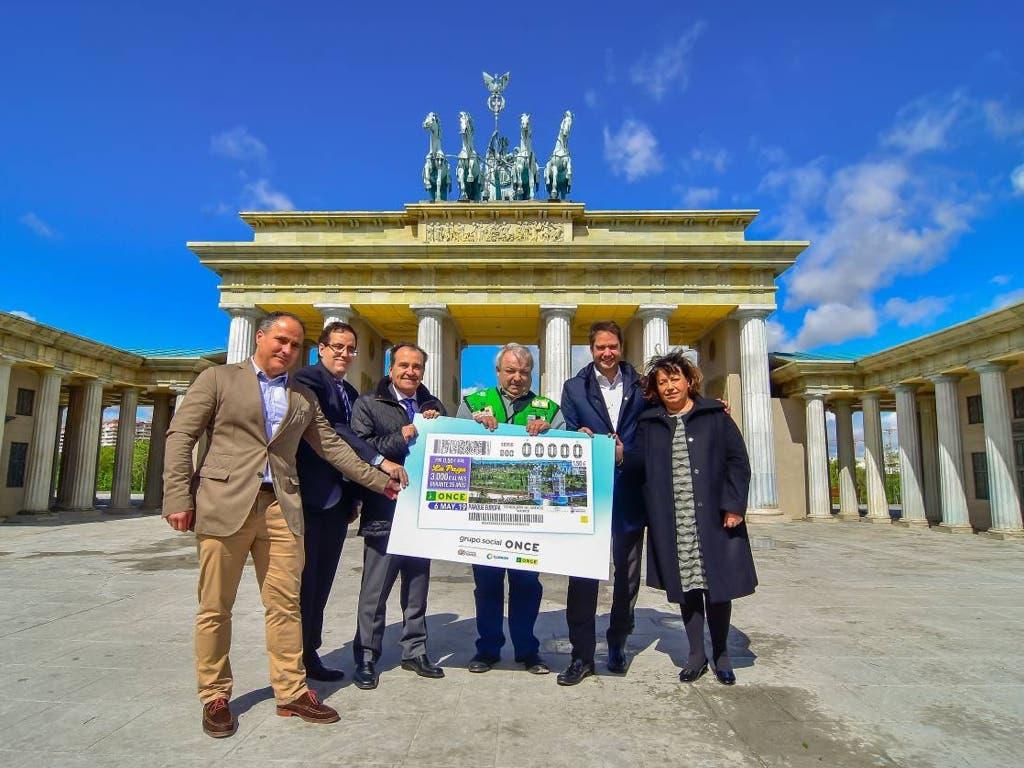 La ONCE dedica un cupón al Parque Europa de Torrejón