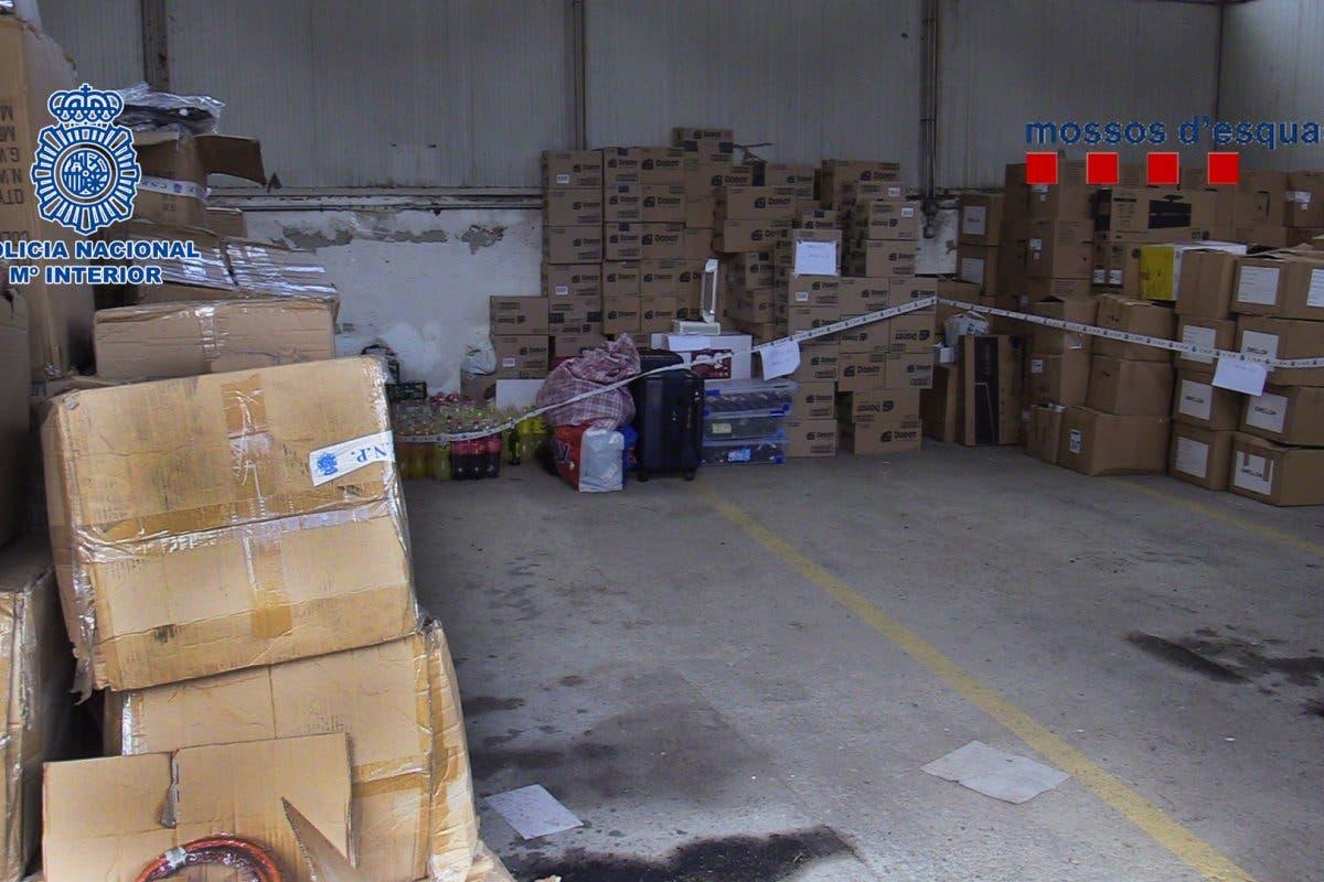 Desarticulada en Madrid una red dedicada a la venta de material robado en camiones