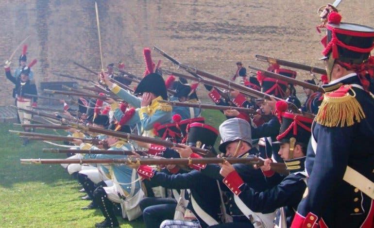 Recreación histórica de la Guerra de la Independencia en Torrejón