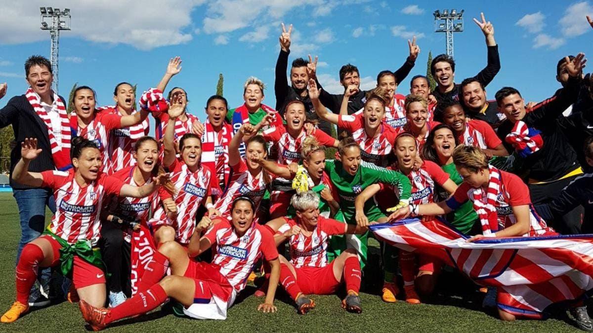El Atlético Femenino jugará la próxima temporada en Alcalá de Henares