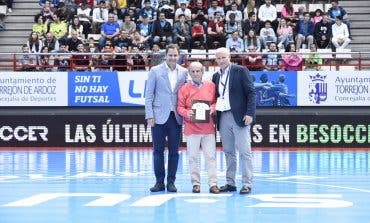Torrejón rindió homenaje a José María García, fundador del Movistar Inter