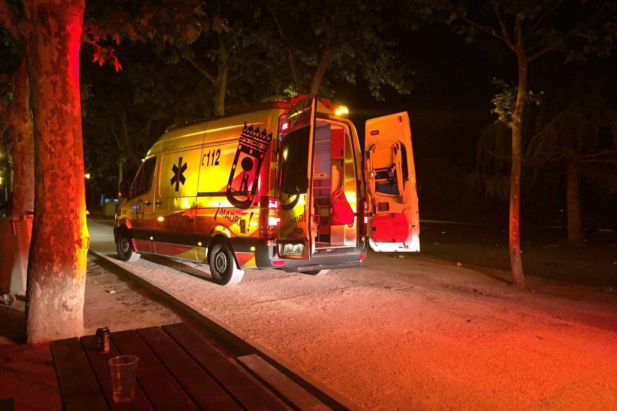 En estado grave un joven apuñalado en la Pradera de San Isidro