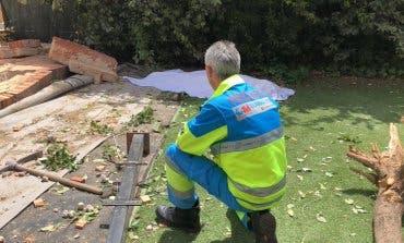 Muere un hombre aplastado por un muro en Paracuellos de Jarama