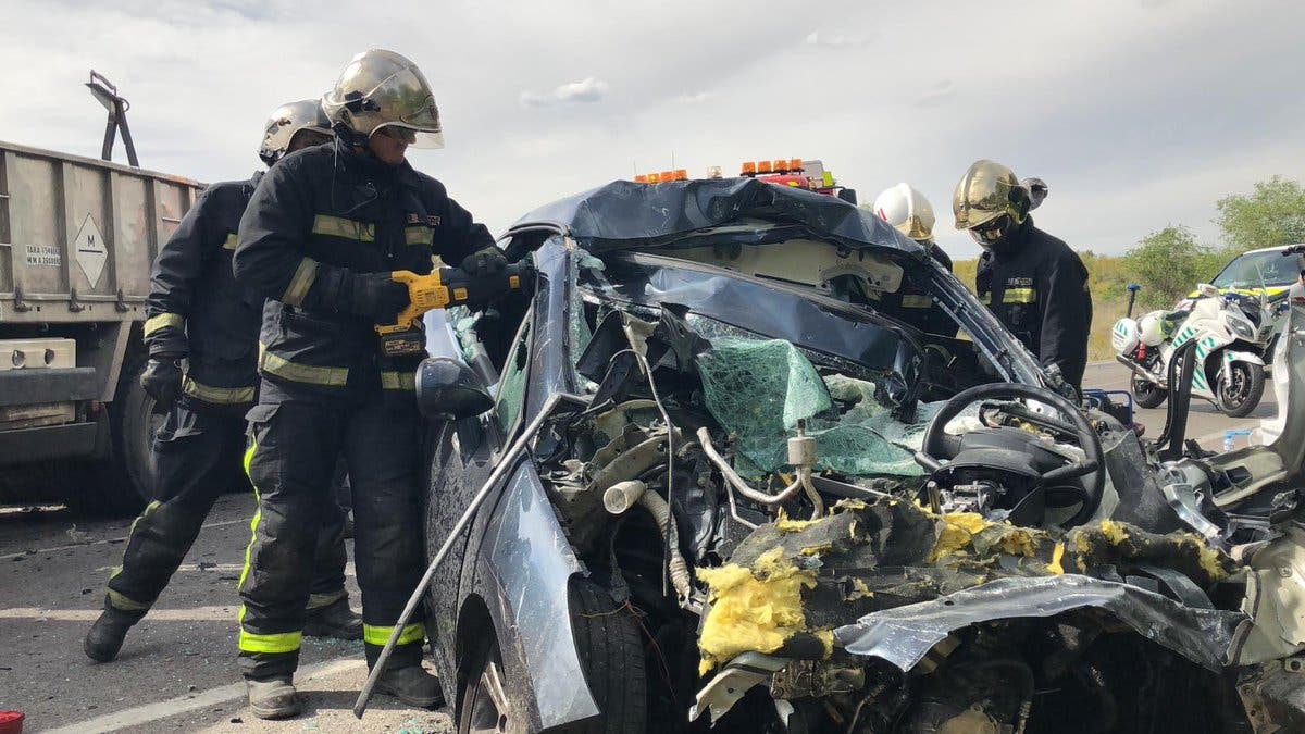 Fallece un hombre en un accidente de tráfico en Mejorada del Campo