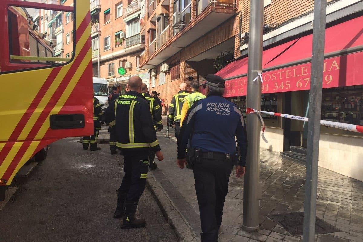 Muere una mujer con movilidad reducida al incendiarse su casa en Madrid