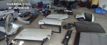 Operación en Torrejón y Cabanillas contra una red dedicada al robo de vehículos