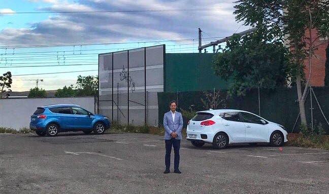 Ignacio Vázquez propone construir una tercera estación de tren en Torrejón
