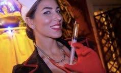 Polémica por una fiesta en una discoteca de Madrid con azafatas semidesnudas vestidas de enfermeras