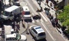 Detenido un magrebí tras sembrar el pánico en Sol al robar una furgoneta