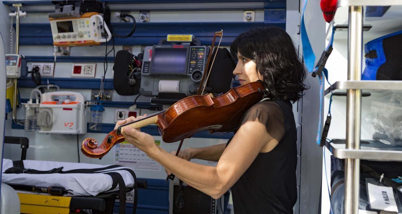 Las UVI móviles del SUMMA incorporarán música clásica durante los traslados