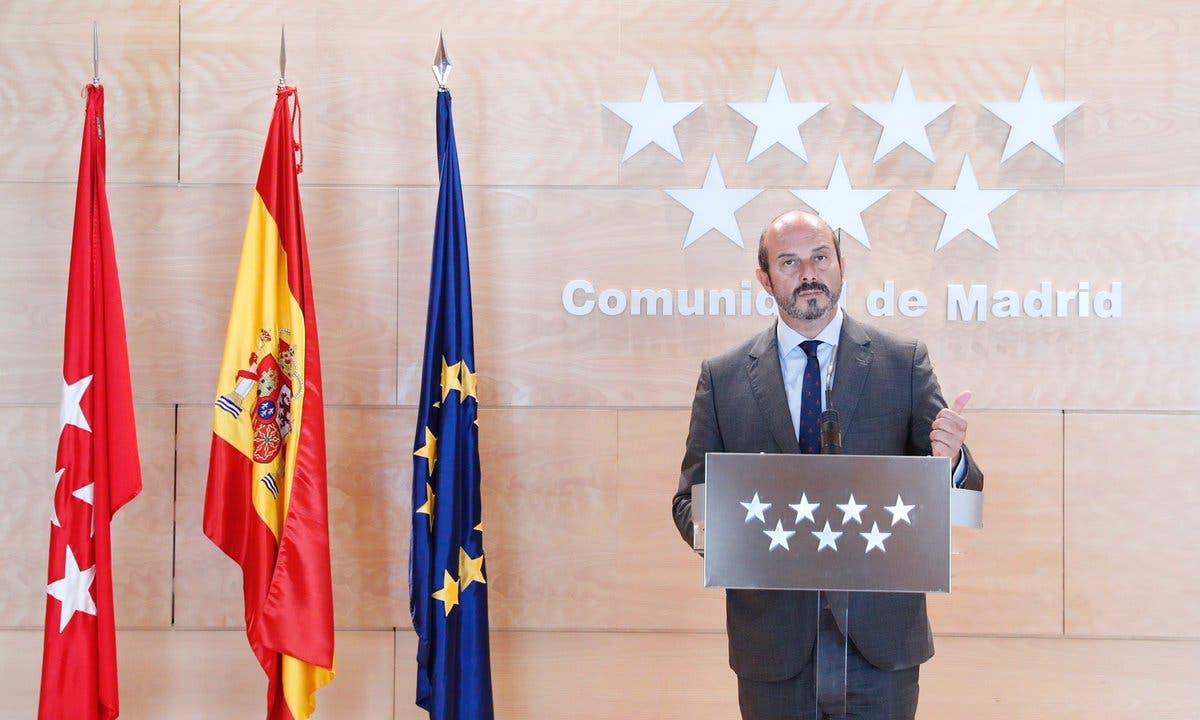 Pedro Rollán cede la Presidencia de la Comunidad de Madrid unos días por motivos personales