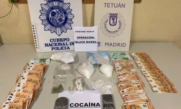 Siete detenidos en una operación antidroga en Tetuán