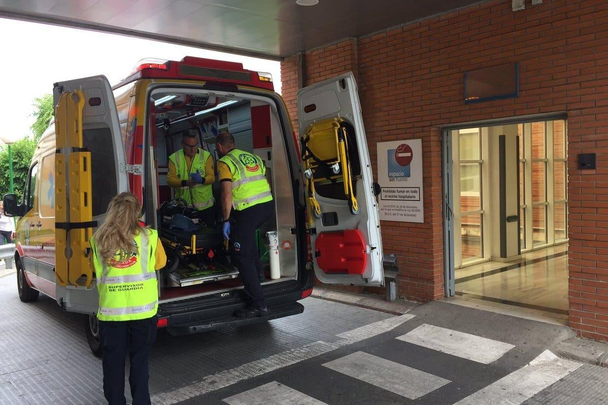 Herido grave un hombre tras ser apuñalado en el cuello en Madrid