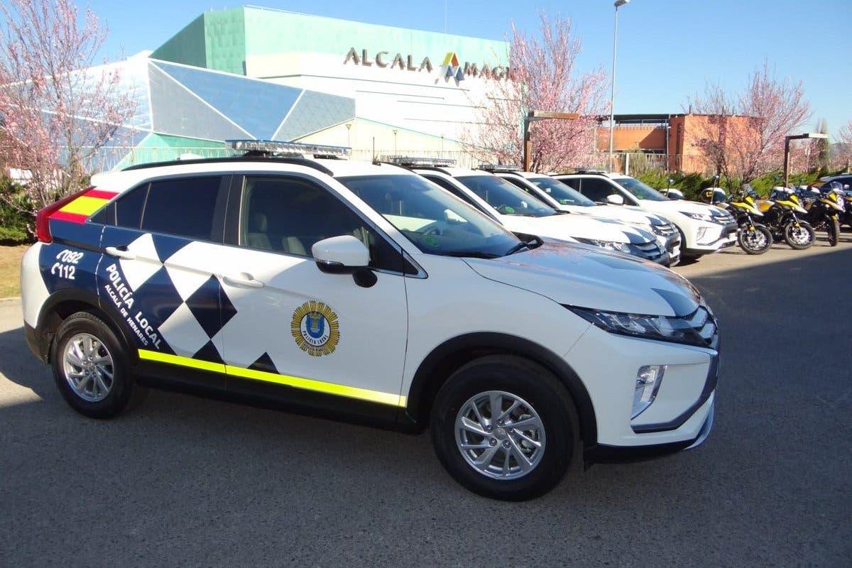 Detenidos cuando robaban en un local de Alcalá de Henares