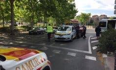 Muy grave un hombre invidente y sordomudo al ser atropellado por una moto en Madrid