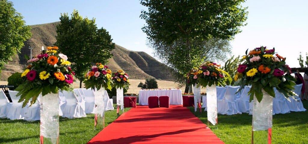 Así es la finca de Alcalá de Henares donde se casará este sábado Belén Esteban
