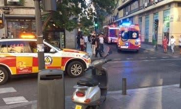 Apuñalado un hombre en Madrid cuando intentaban robarle en plena calle