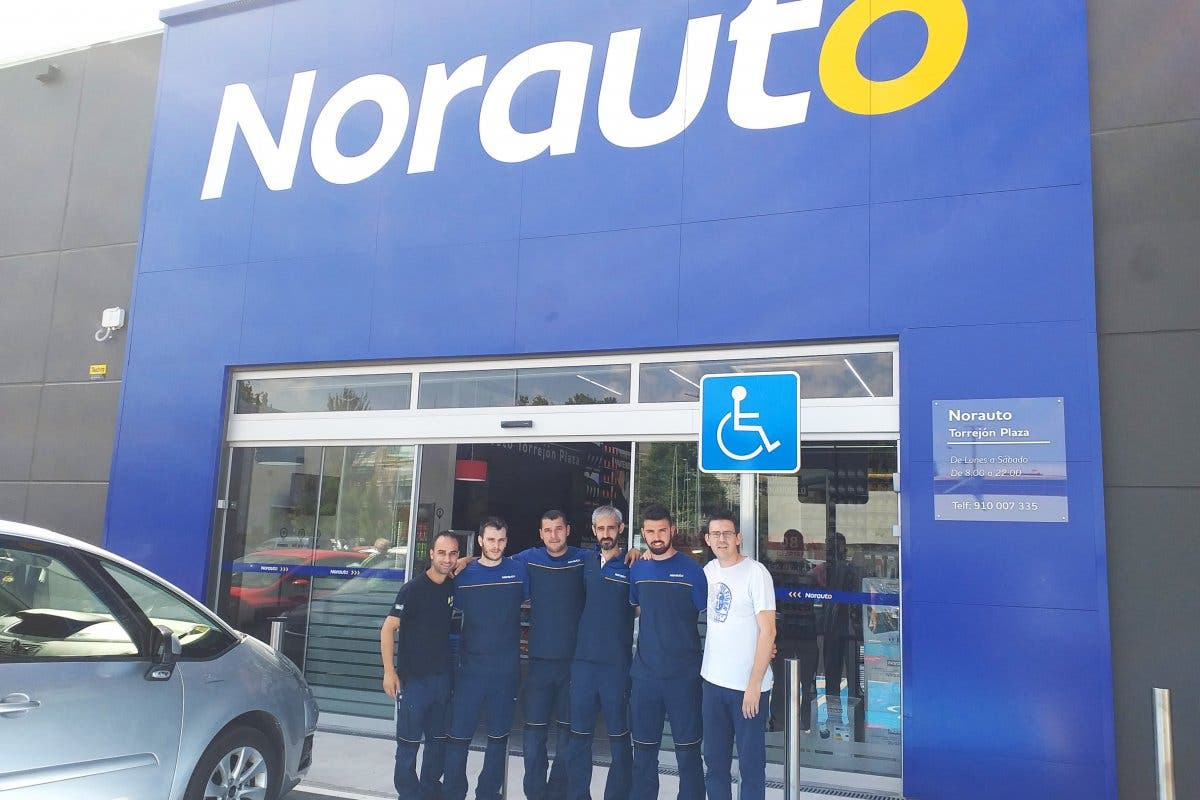Norauto abre un nuevo autocentro en Torrejón