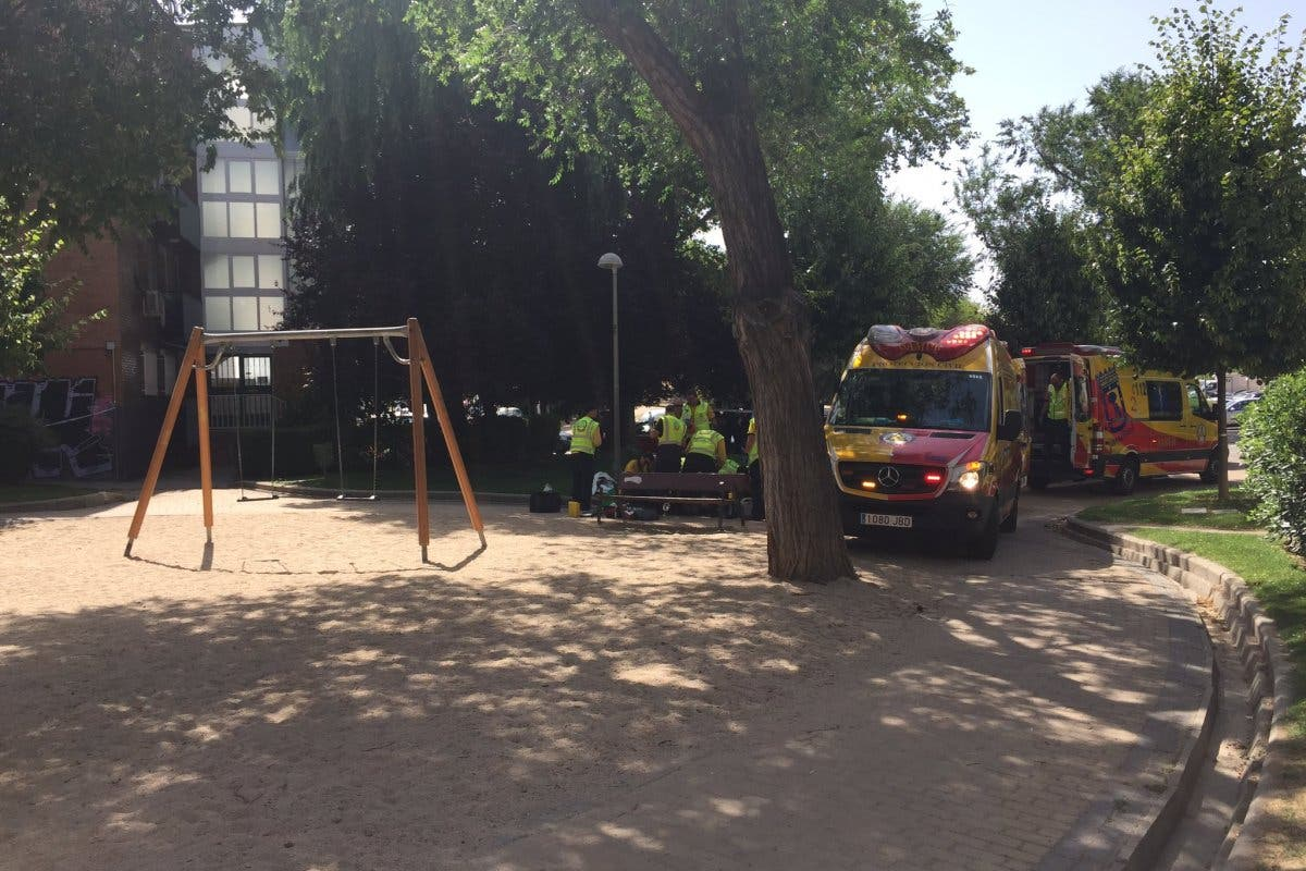 Muere apuñalado un hombre en un parque infantil de Madrid