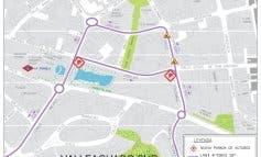 Coslada hará de sentido único la calle Uruguay
