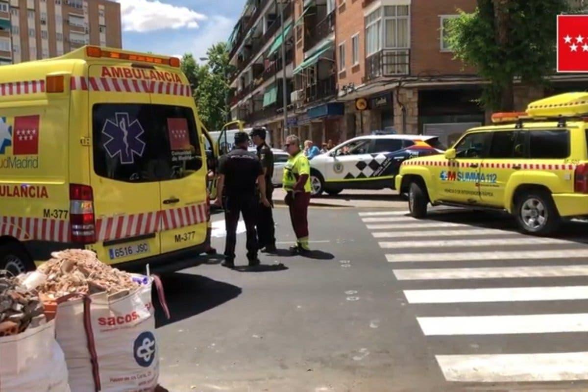 Muere una mujer atropellada por un dúmperen Alcalá de Henares