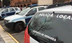 Tres policías intoxicados en el incendio de un bar de Azuqueca