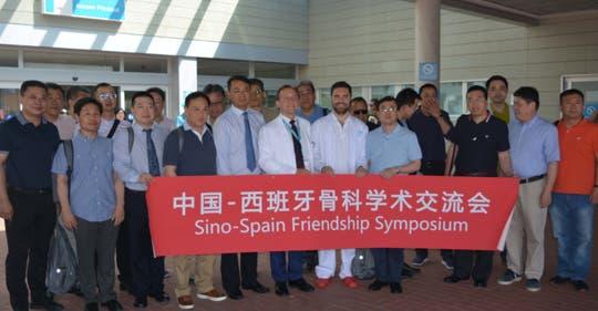 Una delegación médica de China visita el Hospital de Torrejón