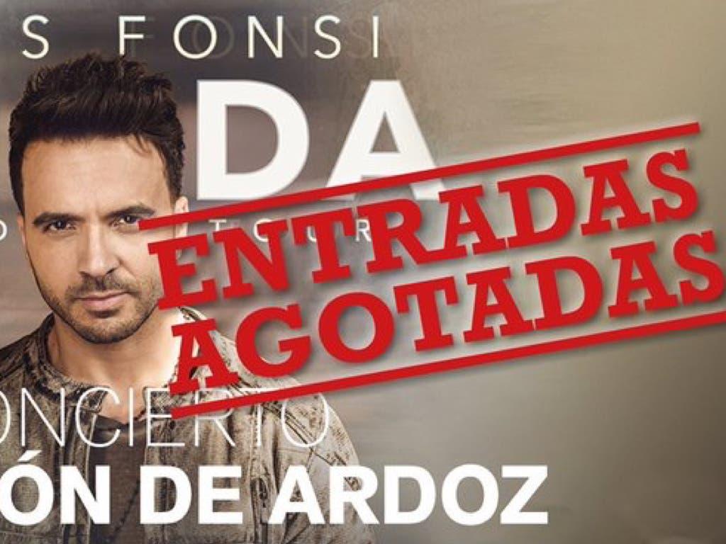 Luis Fonsi anuncia «sorpresas» en su concierto de Torrejón