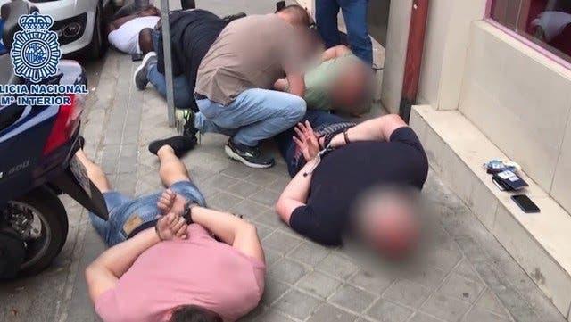 Cinco detenidos por secuestrar a un empresario argentino en Madrid