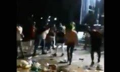 La Policía disuelve una pelea multitudinaria en las fiestas de San Fernando