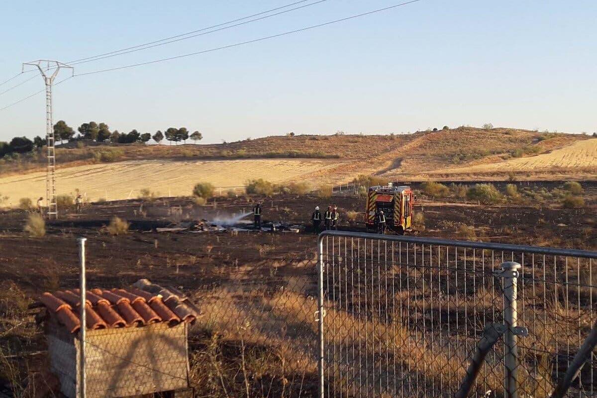 Investigan el incendio que el viernes arrasó 11 hectáreas en Paracuellos