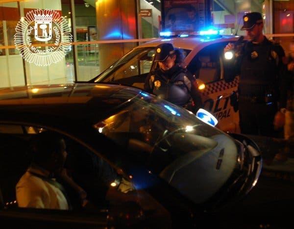 Detenido un conductor en Madrid con éxtasis, marihuana, ketamina, hachís y cocaína