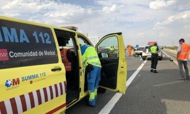 Un muerto y un herido grave en un accidente en la R-4