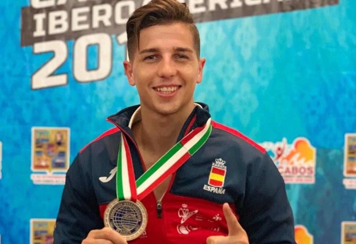 El deportista de San Fernando, Sergio Galán, Campeón Iberoamericano de Kárate