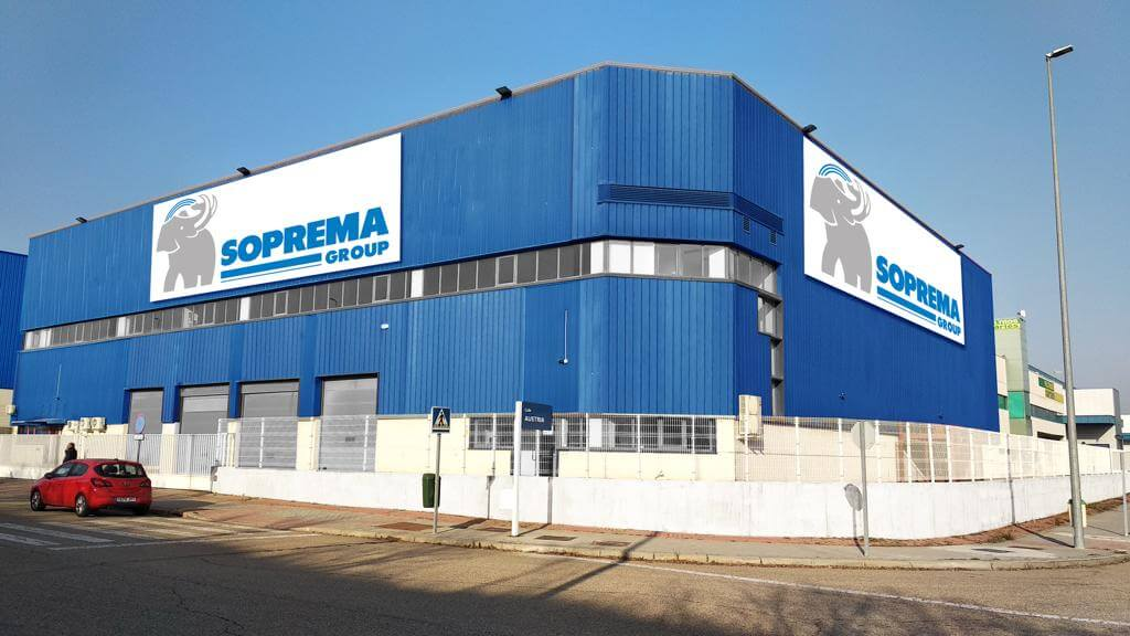 Soprema inaugura un nuevo almacén logístico en Coslada